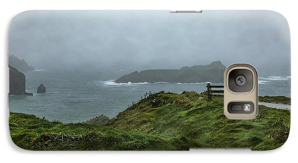 Galaxy Case featuring the photograph Mullion Cove by Brian Roscorla