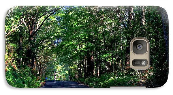 Galaxy Case featuring the photograph Murphy Mill Road - 2 by Jerry Battle