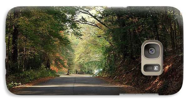 Galaxy Case featuring the photograph Murphy Mill Road by Jerry Battle