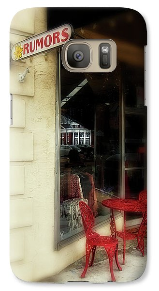 Galaxy Case featuring the photograph Murphy Rumors by Greg Mimbs