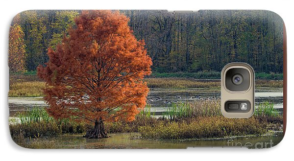 Galaxy Case featuring the photograph Muscatatuck - D009967 by Daniel Dempster