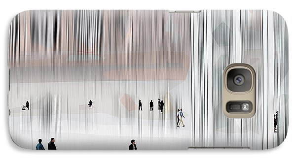 Galaxy Case featuring the digital art Museum Of Nothing by Pedro L Gili
