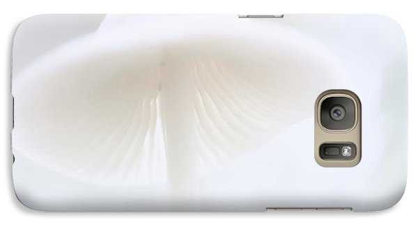 Galaxy Case featuring the photograph Mushroom Fairy Dreams, Mycena Galericulata by Dirk Ercken