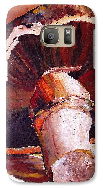 Mushroom Still Life Galaxy S7 Case by Toni Grote