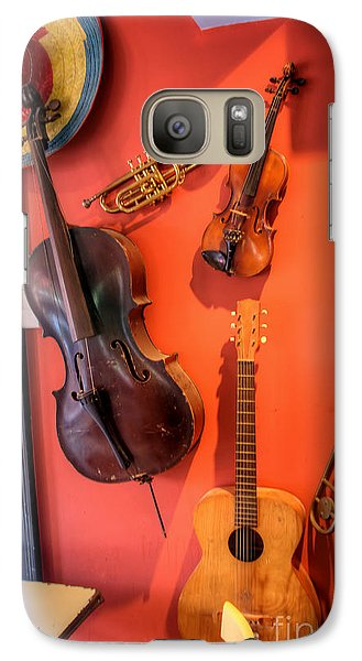 Galaxy Case featuring the photograph Music by Adrian LaRoque
