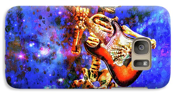 Galaxy Case featuring the photograph Music In The Air by Jeff Gettis