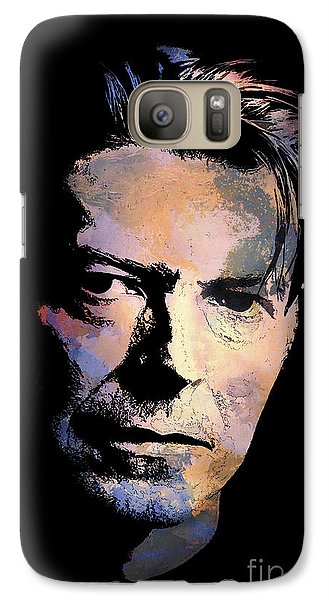 Galaxy Case featuring the painting Music Legend 2 by Andrzej Szczerski