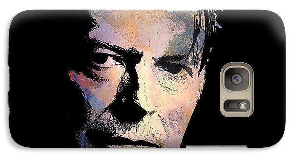 Galaxy Case featuring the painting Music Legend. by Andrzej Szczerski