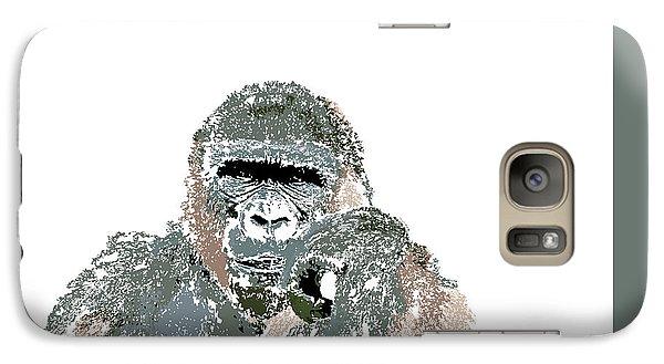 Galaxy Case featuring the digital art Music Notes 23 by David Bridburg