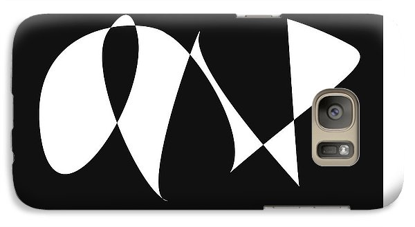 Galaxy Case featuring the digital art Music Notes 9 by David Bridburg
