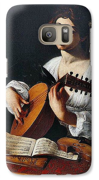 Violin Galaxy S7 Case - Musician 1600 by Padre Art
