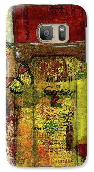 Galaxy Case featuring the painting Must De Cartier by P J Lewis