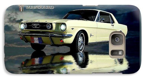 Galaxy Case featuring the photograph Mustang by Steven Agius