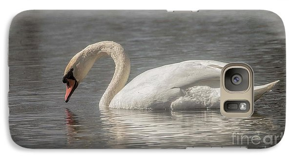 Galaxy Case featuring the photograph Mute Swan by David Bearden