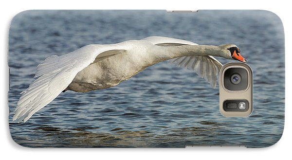 Galaxy Case featuring the photograph Mute Swan by Roy McPeak