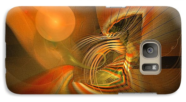 Mutual Respect - Abstract Art Galaxy S7 Case