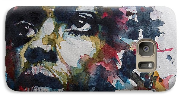 Galaxy Case featuring the painting My Baby Just Cares For Me  by Paul Lovering