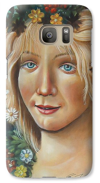 Galaxy Case featuring the painting My Botticelli by S G