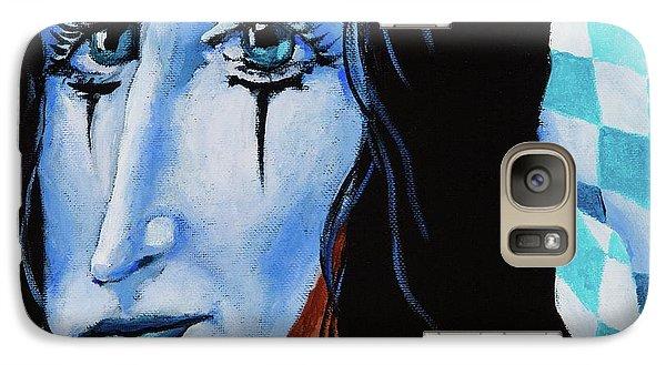 Galaxy Case featuring the painting My Dearest Friend Pierrot by Igor Postash
