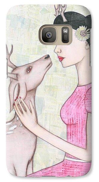 My Deer Galaxy Case by Natalie Briney