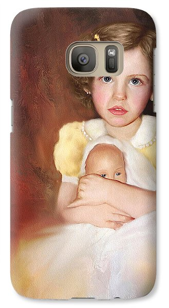 Galaxy Case featuring the photograph My Dolly by Bonnie Willis