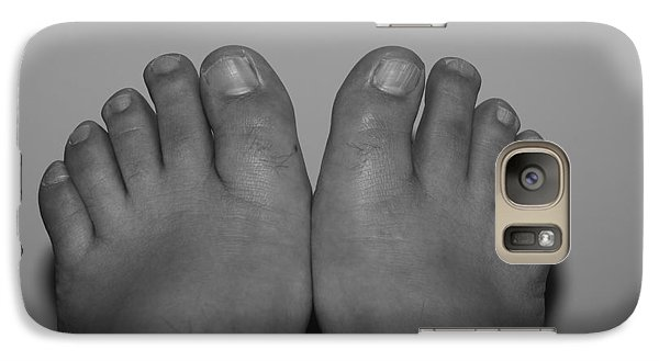 Galaxy Case featuring the photograph My Feet By Hans by Rob Hans