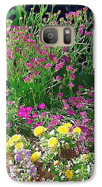 Galaxy Case featuring the photograph My Garden   by Donna Bentley