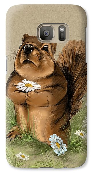 Galaxy Case featuring the painting My Gift For You by Veronica Minozzi