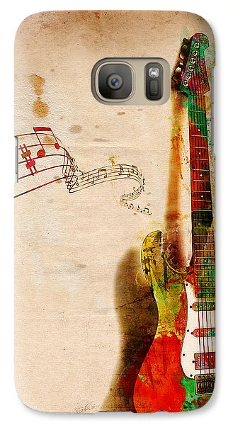 My Guitar Can Sing Galaxy S7 Case by Nikki Smith