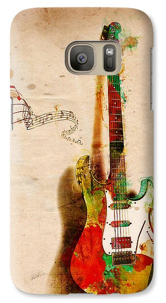 Rock And Roll Galaxy S7 Case - My Guitar Can Sing by Nikki Smith
