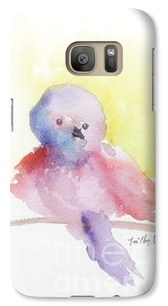 Galaxy Case featuring the painting My Little One by Trilby Cole
