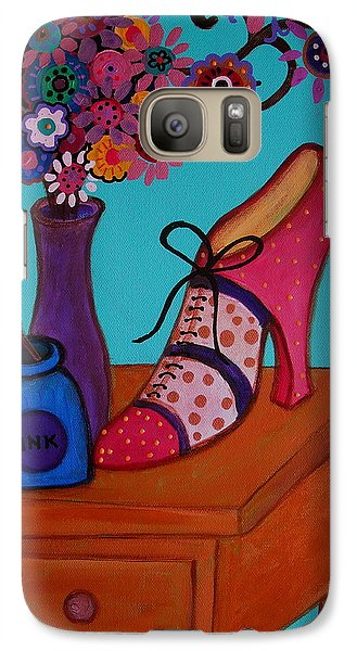Galaxy Case featuring the painting My Love by Pristine Cartera Turkus