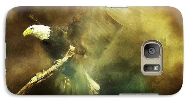 Galaxy Case featuring the photograph My Refuge Psalm 91 by Eleanor Abramson