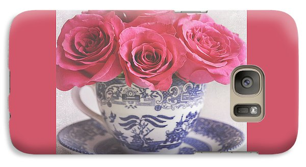 Galaxy Case featuring the photograph My Sweet Charity by Lyn Randle