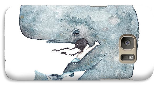 My Whale Galaxy Case by Soosh