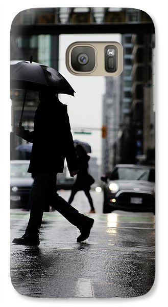 Galaxy Case featuring the photograph My World Hers Two by Empty Wall