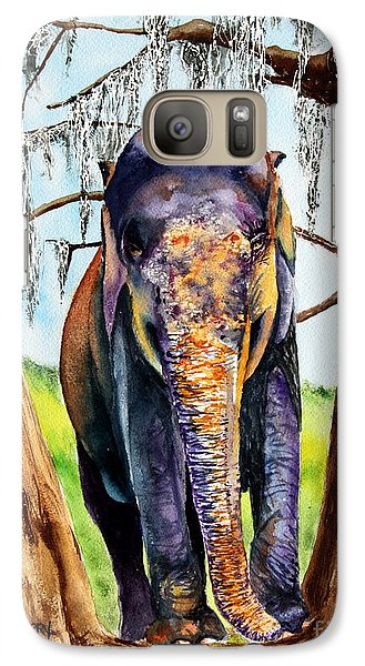Galaxy Case featuring the painting Mysore by Maria Barry