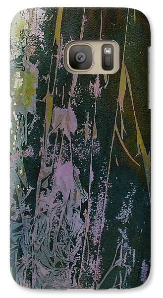 Galaxy Case featuring the painting Mysterion by Mary Sullivan