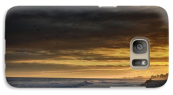 Galaxy Case featuring the photograph Mysterious Myrtle Beach by Kelly Reber