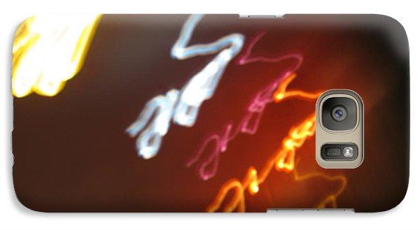 Galaxy Case featuring the photograph Mysterious Signature by Ausra Huntington nee Paulauskaite
