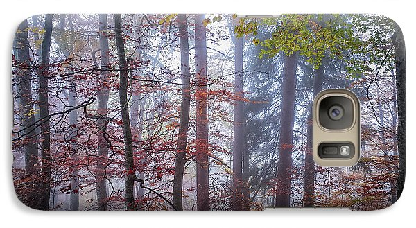 Galaxy Case featuring the photograph Mystery In Fog by Elena Elisseeva