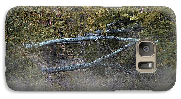 Galaxy Case featuring the photograph Mystery In The Fall by Skip Willits