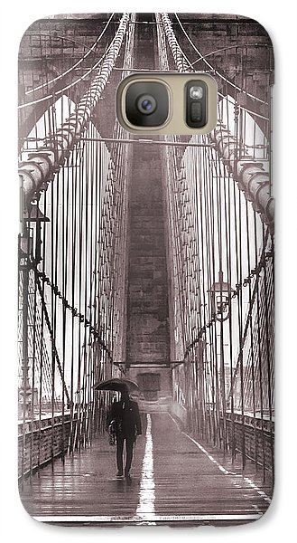 Mystery Man Of Brooklyn Galaxy S7 Case by Az Jackson