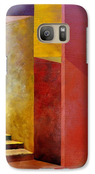 Mystery Stairway Galaxy S7 Case by Michelle Calkins