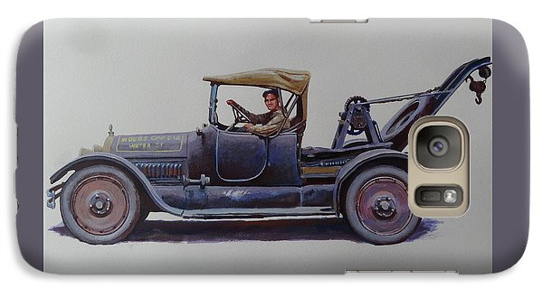Galaxy Case featuring the painting Mystery Wrecker 1930. by Mike  Jeffries