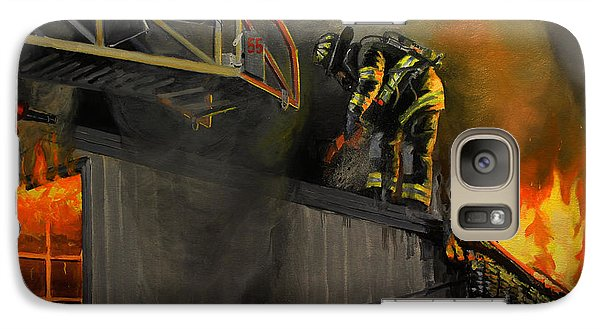 Mystic Fire Galaxy S7 Case by Paul Walsh