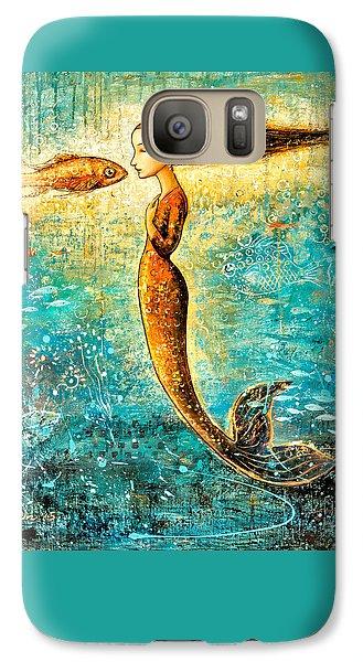 Extinct And Mythical Galaxy S7 Case - Mystic Mermaid Iv by Shijun Munns