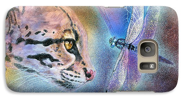 Galaxy Case featuring the painting Mystic by Ragen Mendenhall