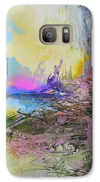 Galaxy Case featuring the painting Mystic Rendevous by Mary Sullivan