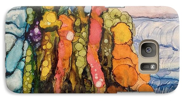 Galaxy Case featuring the painting Mystical Garden by Suzanne Canner